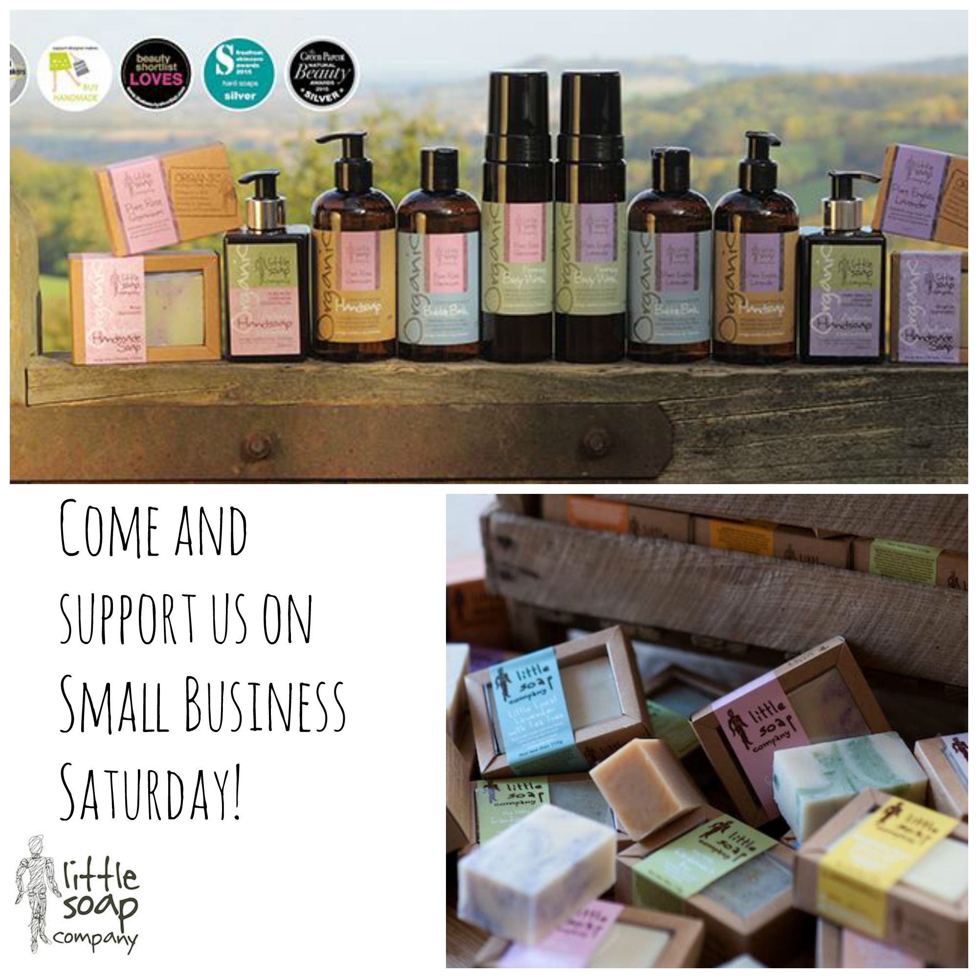 Come and support us on Small Business Saturday!_LittleSoapCompany.co.uk