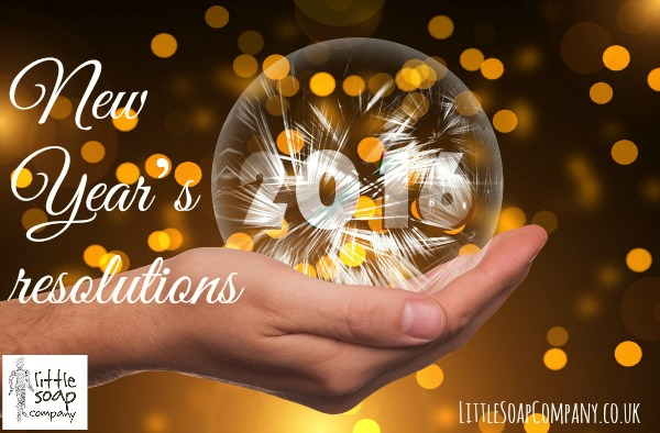 New Year's resolutions_LittleSoapCompany.co.uk
