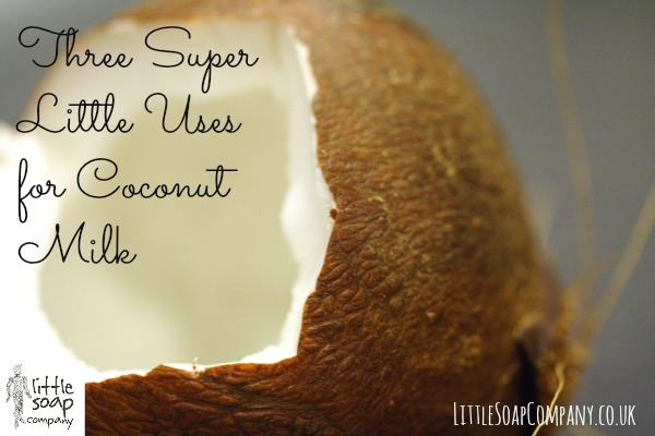 Three Super Little Uses for Coconut Milk_LittleSoapCompany.co.uk